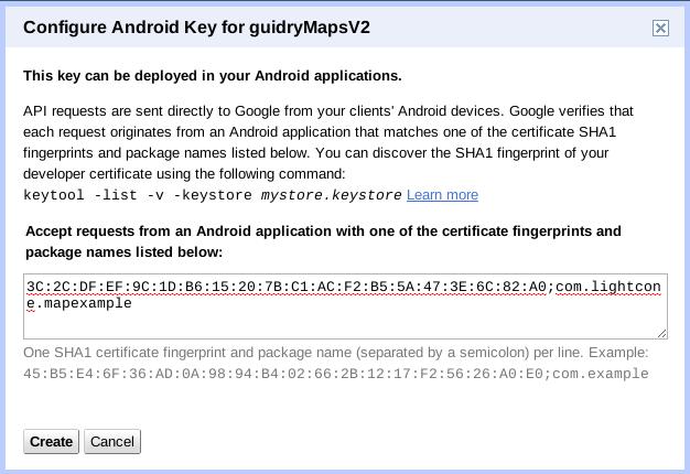 The Maps API Key