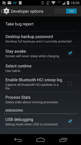 Installing on a Device