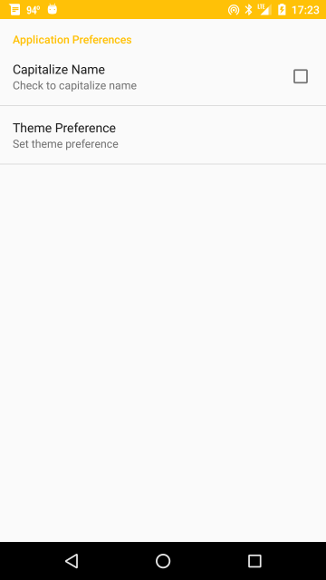 Themes Styles and Preferences
