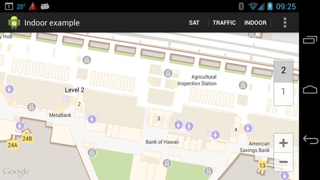 Indoor map example (google) | map, london location, indoor.